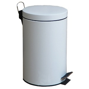 Pedal-Operated Circular Bin 20L Capacity