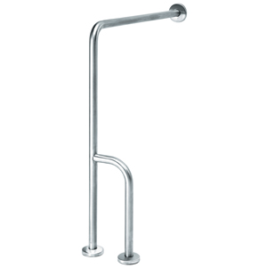 Wall/Floor Mounted Grab Bar 3 Support Points