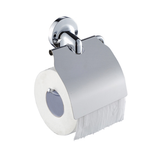 Zamac Chrome Toilet Brush Holder