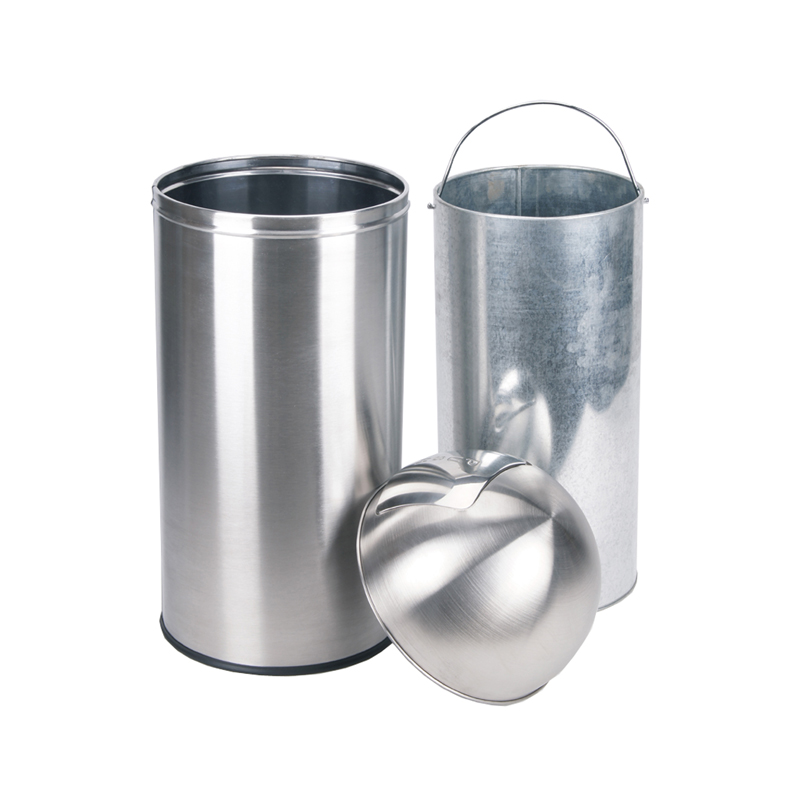Push Open 50L Bin with Self Colsing Lid