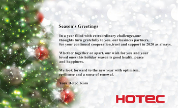 Season's Greetings: Merry Christmas and Happy New Year