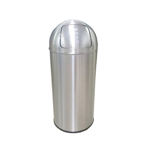 Push Open 25L Bin with Self Colsing Lid