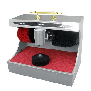 Sensor Operated Shoe Polisher Machine
